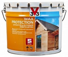 Антисептик для дерева с добавлением воска Сосна 9л WAX PROTECTION