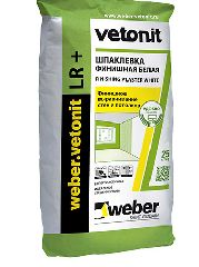 Шпатлёвка Vetonit Finish LR+ 25кг